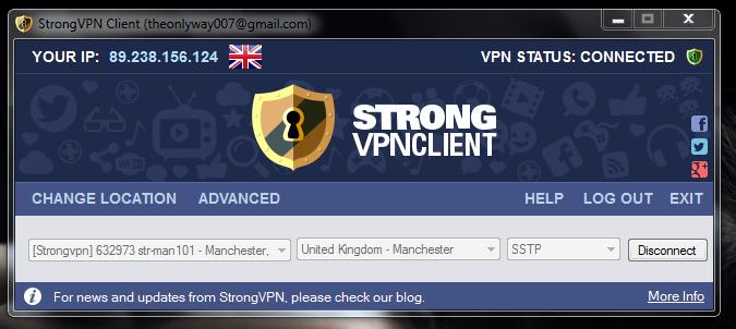 Strong VPN Client