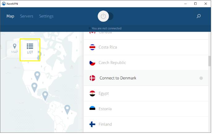 NordVPN-server-list