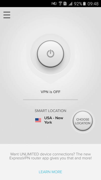 android-connect-ExpressVPN