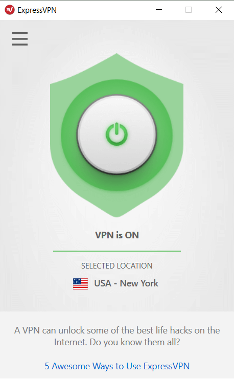 windows-connected-ExpressVPN