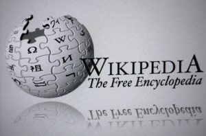 "the logo of the brand ""Wikipedia"""