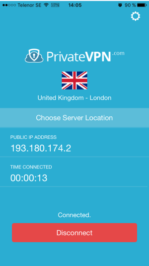 PrivateVPN-iOS