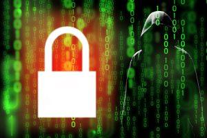 Digital technology data encryption can prevent hacker or information leak in matrix (hidden information concept)