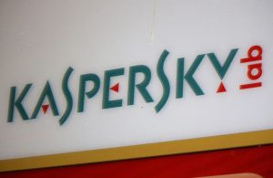 "logo of the brand ""Kapersky Lab"", Berlin."