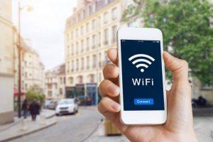 public WiFi hotspot