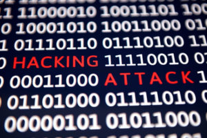 Hacking attack - Cyber crime