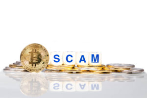Bitcoin scam.