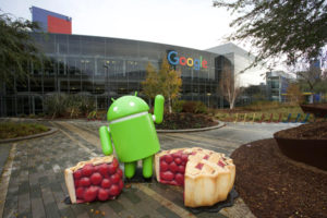 Android Nougat at Googleplex, the corporate headquarters complex of Google and its parent company Alphabet Inc
