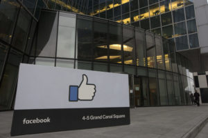 Facebook's EMEA (Europe, Middle East and Asia) headquarters at Grand Canal Square in Dublin, Ireland