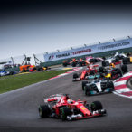 start the F1 race at Formula One Chinese Grand Prix at Shanghai Circuit.